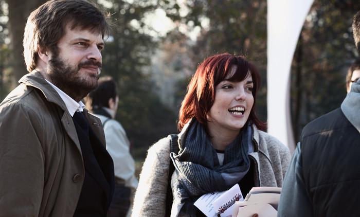 La Presidente Angelica Vasile con l'Assessore Majorino al Parco Sempione Photo by Viatceslav Pilolli