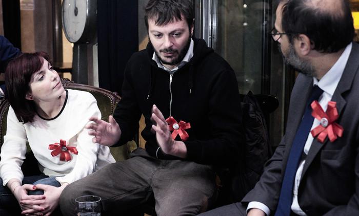 Al Pinch con l'Ass. Granelli e il Consigliere Comunale Gibillini Photo by Viatceslav Pilolli