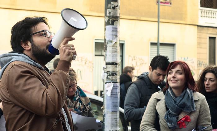 Il Consigliere di Zona Scarinzi e la Presidente Angelica Vasile al Liceo Virgilio